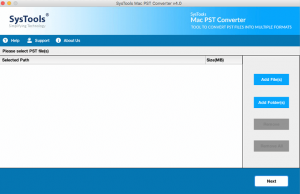 main screen 300x194 - MacWareTools PST Converter for Mac - Product Review