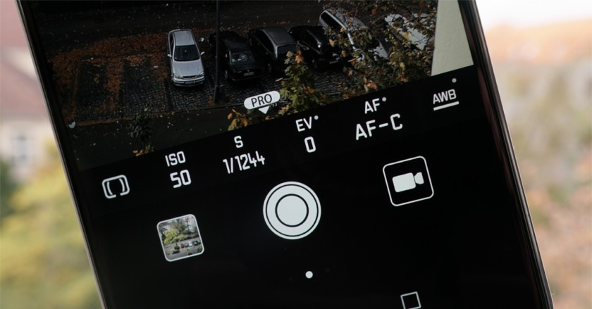 camera manual controls  - How to use Pro Camera Mode on Android