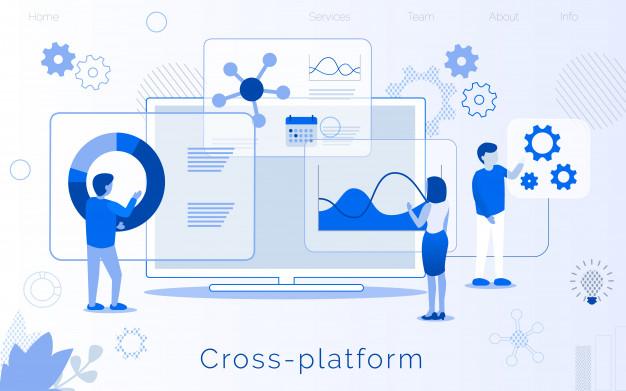 cross platform development creation landing page 81522 2803 - A Cross-Platform Development Platform Can Be Cost-effective – Meet React Native