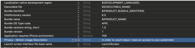 pedometer - Integration of Pedometer in Swift iOS Development
