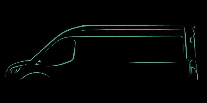 Car - Ford will reveal its all-electric Transit van in this November