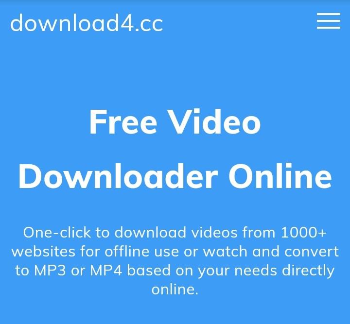 download4.cc video downloader - (2021 Reviews) Top 5 Free Online YouTube Video Downloader