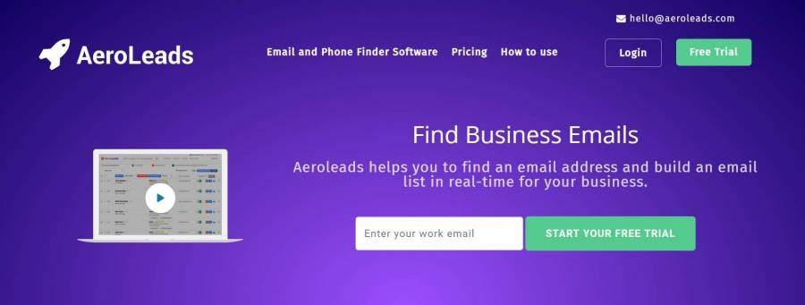 AeroLeads - Top 20 Lead Generation Tools to Grow Your Business