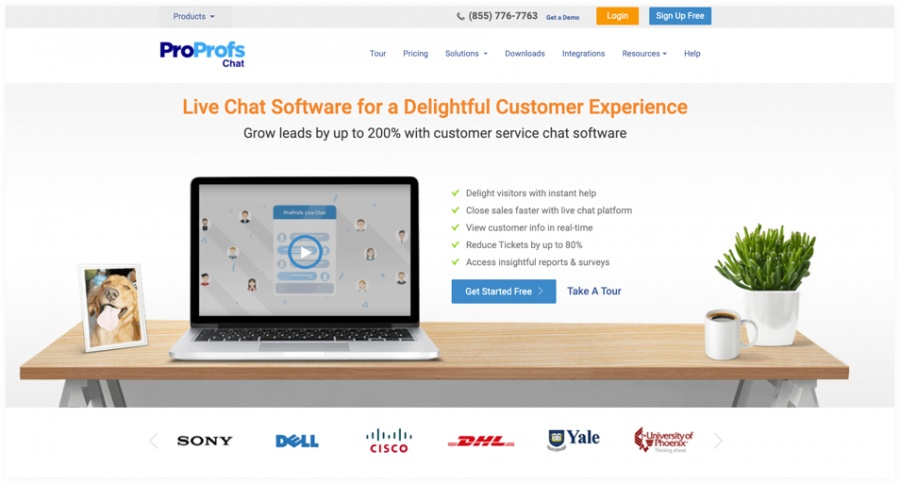 chat software - Top 20 Lead Generation Tools to Grow Your Business