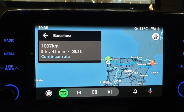 map - Third-party Navigation apps are now available for Google's Android Auto users
