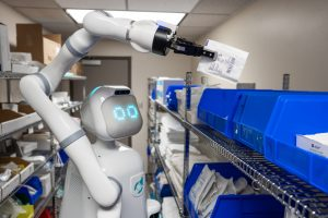 Moxi Hospital Robot 1 300x200 - How Robotics are Helping During COVID-19