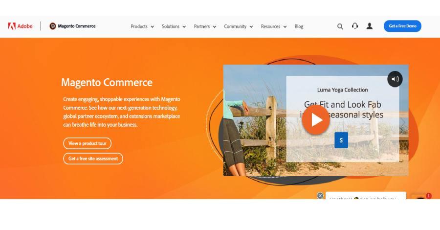 Magento - Best ecommerce platform in 2021