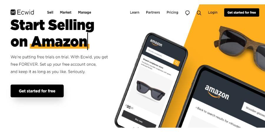 ecwid - Best ecommerce platform in 2021