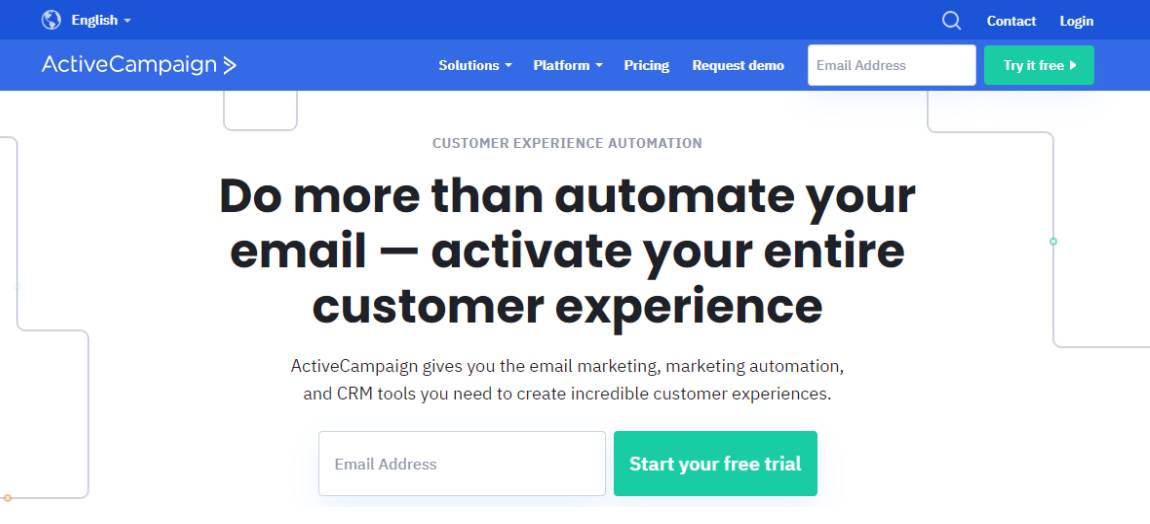 Activecampaign - Best 10 Email Marketing Tools in 2021