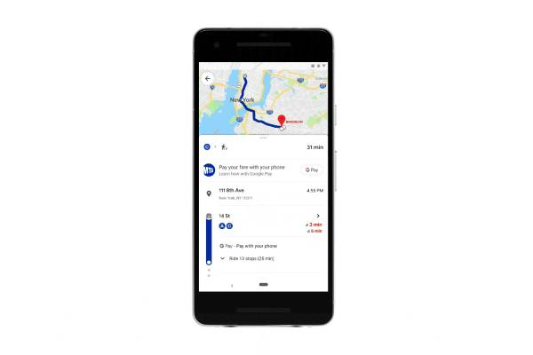 Google map - Google Maps will help you pay parking and transit fees ahead of time