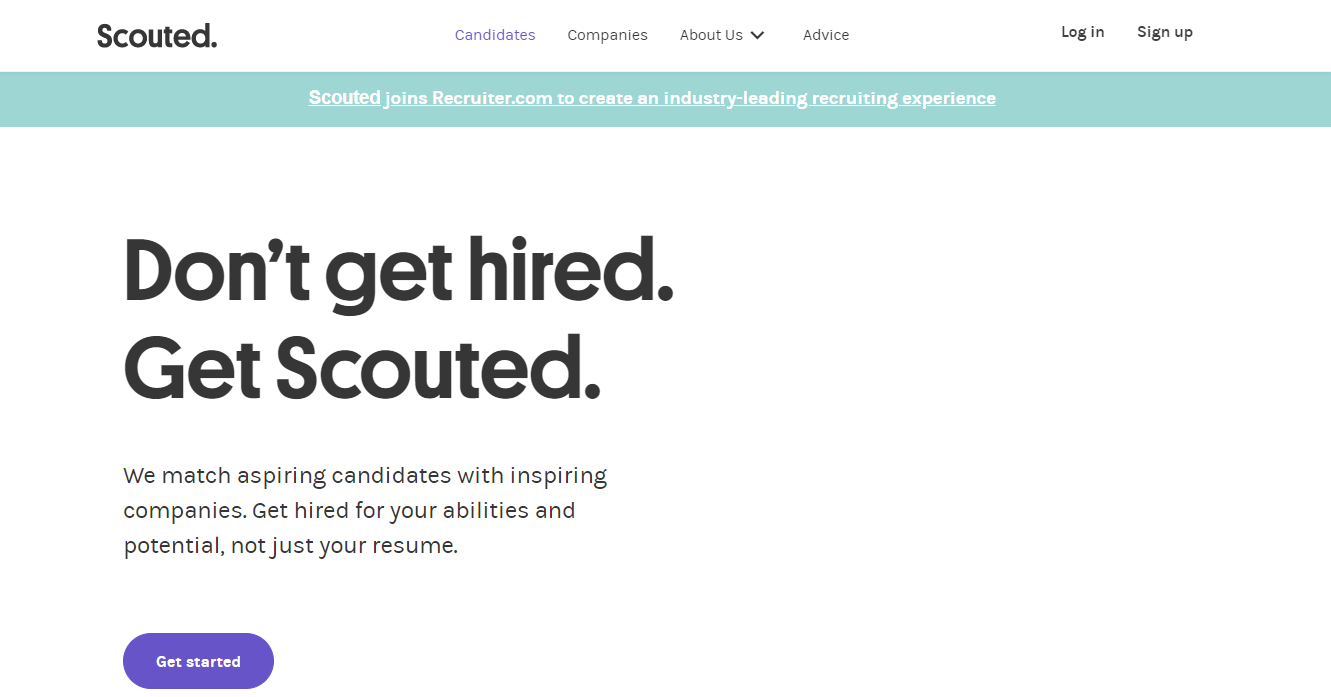 Scouted - Top 10 Job Search Websites of 2021
