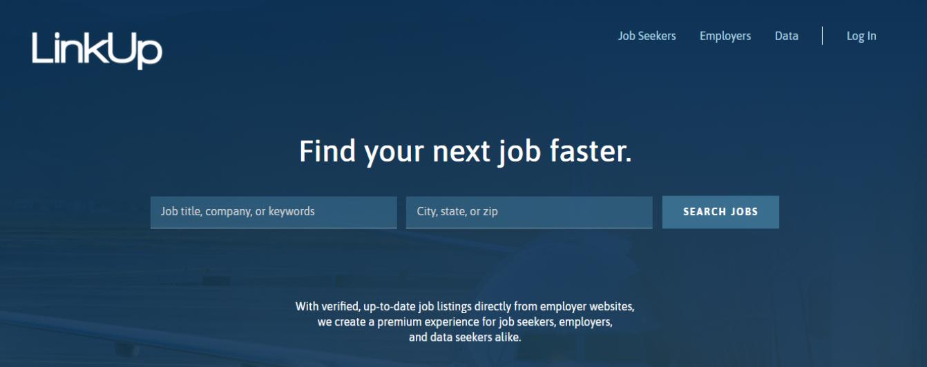 LinkUp - Top 10 Job Search Websites of 2021