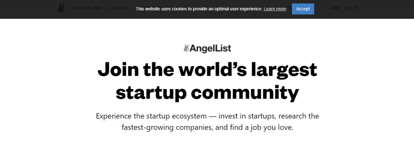 AngelList - Top 10 Job Search Websites of 2021
