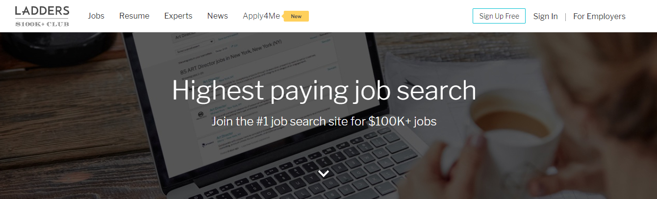 Ladders - Top 10 Job Search Websites of 2021