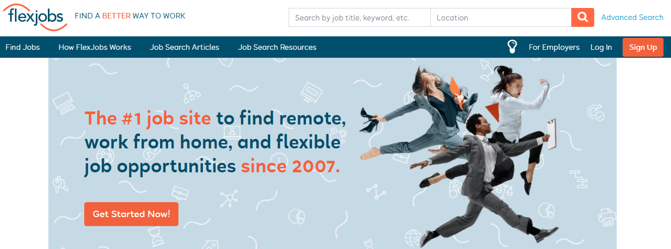 FlexJobs - Top 10 Job Search Websites of 2021