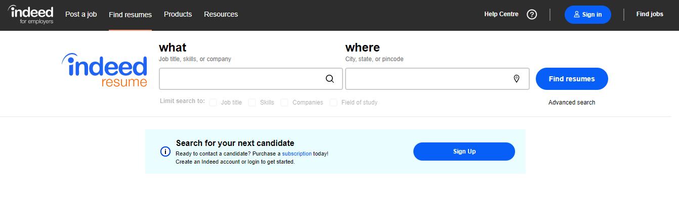 Indeed - Top 10 Job Search Websites of 2021