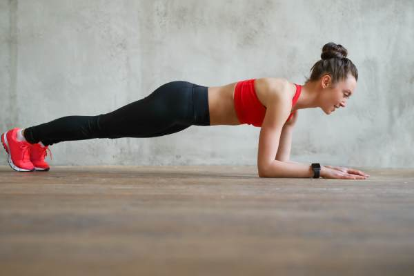 Plank - Top 6 workout that Get Ready Your Body for Pregnancy