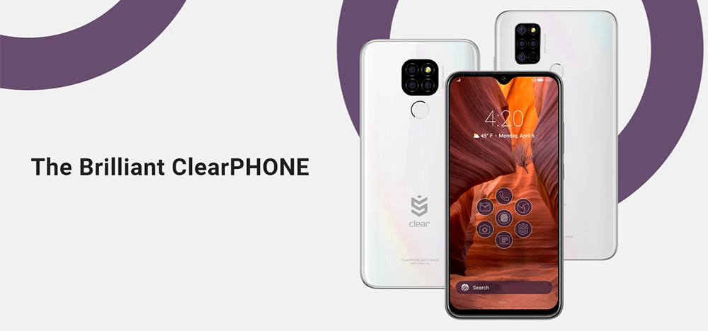 ClearPHONE - Finally, The First Phone That Gives You Fully User Privacy with Decentralized Data Storage