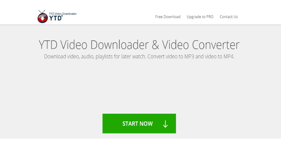 YTD Video Downloader Converter - Top 5 Tools for YouTube Video Download