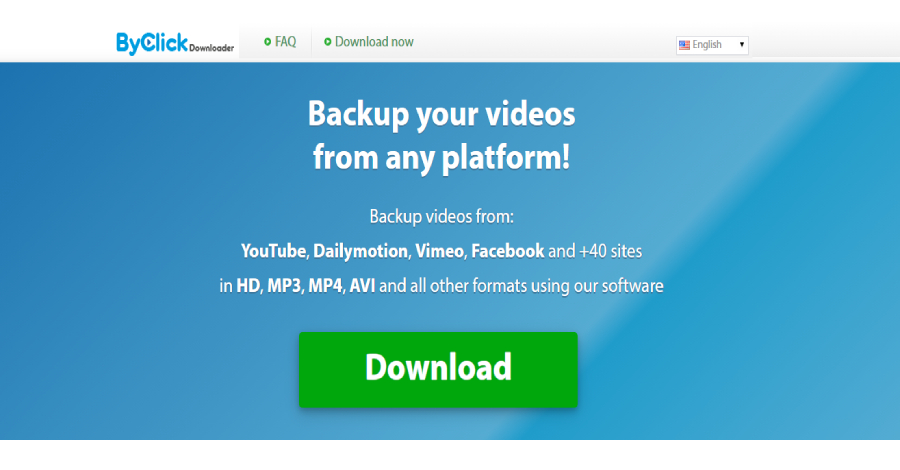 By Click Downloader - Top 5 Tools for YouTube Video Download