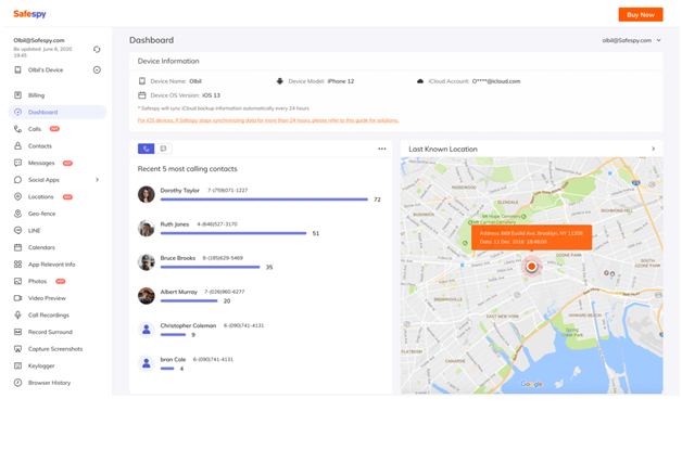 Third step - A Definitive Way to Track Facebook Messages