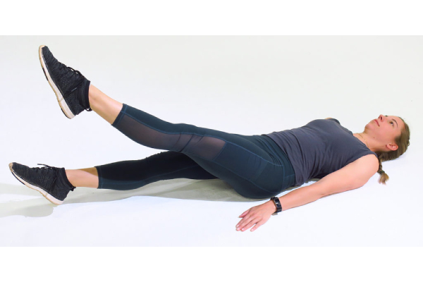 Fluttering Kick - How to Lose Belly Fat at home with Exercise?