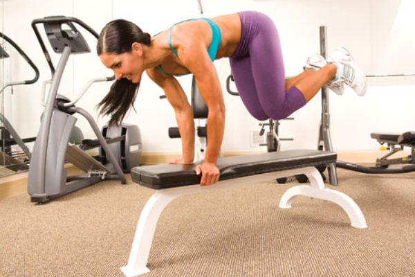 Bench Hops - How to Lose Belly Fat at home with Exercise?