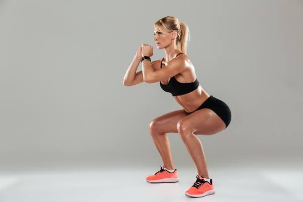 Squat - Top 7 Strength Training Exercises For Women