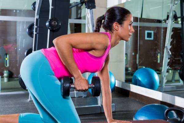 One arm dumbbell rowing - Top 7 Strength Training Exercises For Women