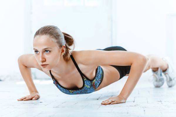 Push up - Top 7 Strength Training Exercises For Women