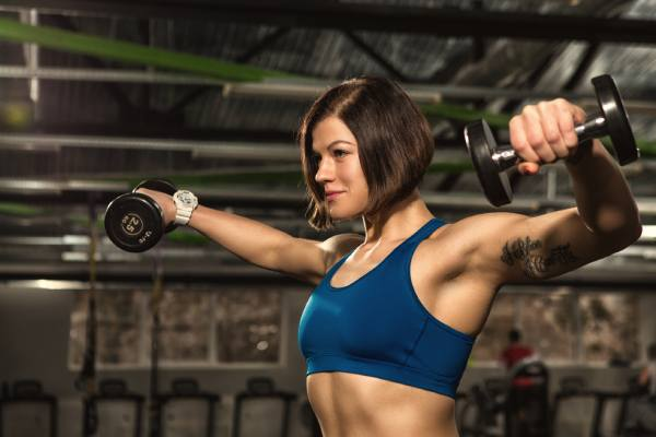 Lateral Raises - Top 7 Strength Training Exercises For Women