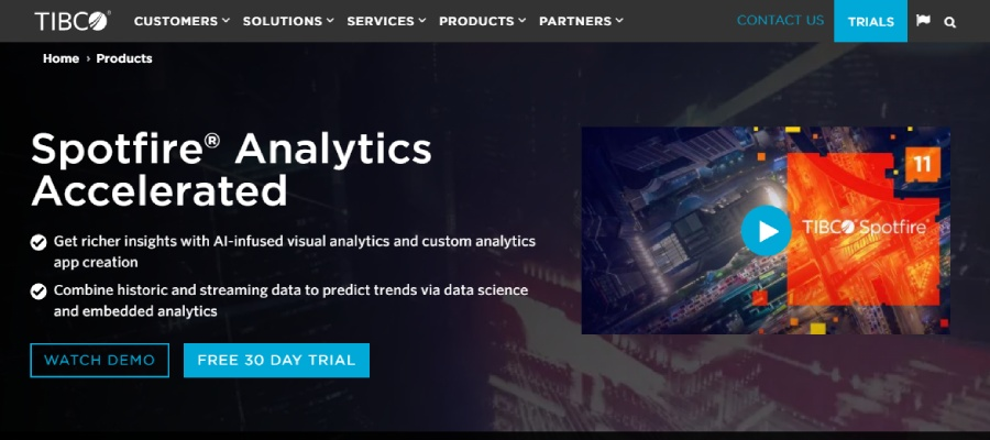 9 - Top 10 Business Intelligence Tools of 2021