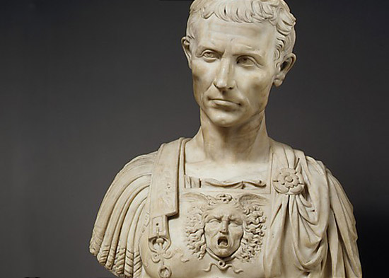 the bust of caesar the atlasphere
