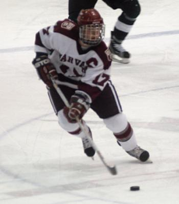 Captain JENNIFER BOTTERILL leads second-seeded Harvard into the Frozen Four in Duluth, Minn. next weekend.
