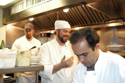 Strack works some magic in the kitchen