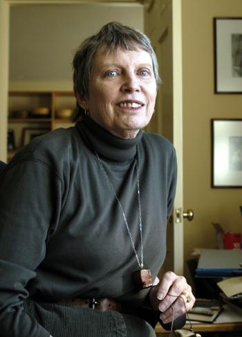 Lois Lowry at her Cambridge home