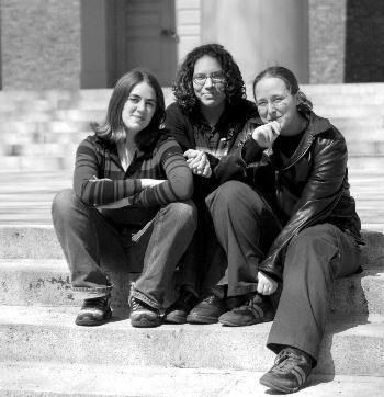 Rebeccah Watson, Ilana Sichel and Jessica Rosenberg of RUS