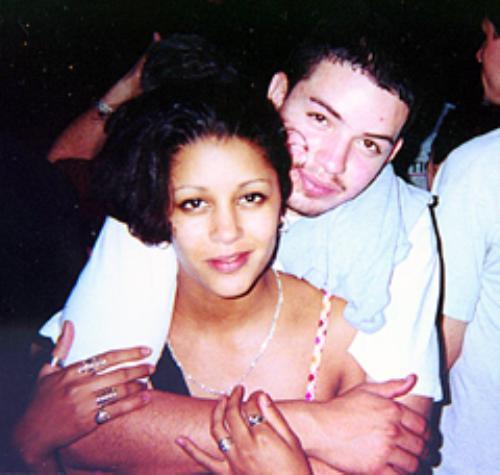 MICHAEL COLONO with his girlfriend CINDY GUZMAN.