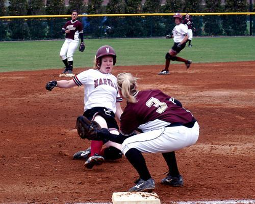 Harvard took 12 innings to claim game one on Saturday—its third extra-inning victory in four games.
