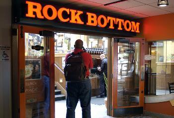 Rock Bottom, known for its burgers and beer, will close its doors June 15. It is the most recent of several Harvard Square establishments popular with student to go out of business in the past few years.