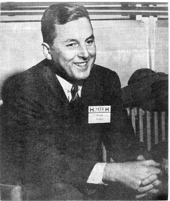 NATHAN M. PUSEY '28 was selected by the Harvard Corporation in June 1953 to replace James B. Conant '14 as University president. The choice was a suprise to many.