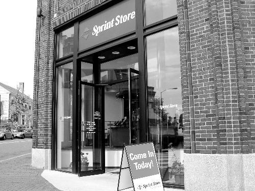 The Spring Store, which replaced Sage's grocery, is part of a wave of cell phone stores that swarmed teh Square in the last four years.