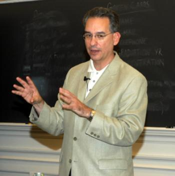 B.U. Professor RANDY E. BARNETT explains to Harvard students why he believes the Consitution protects the use of medicinal marijuana.