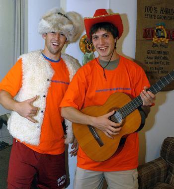 Zachary A. Corker '04 and Darren S. Morris '05