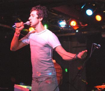 French Kicks lead singer Nick Stumpf performs live at Axis on Landsdowne Street.