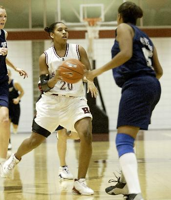 Sophomore Jess Holsey has slid nicely into her new starting role.