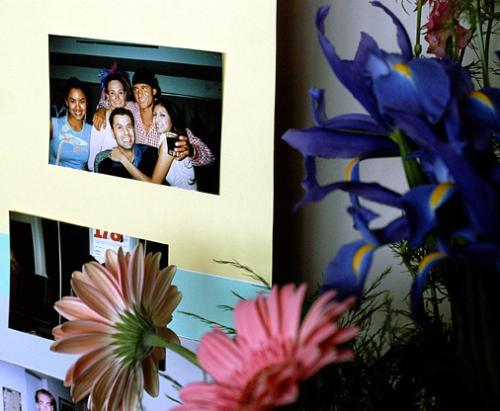 A display of flowers and photos reminded students of the vibrant personality of Marian H. Smith at a memorial service in her honor last April. Smith committed suicide in her Winthrop House dorm room last December.