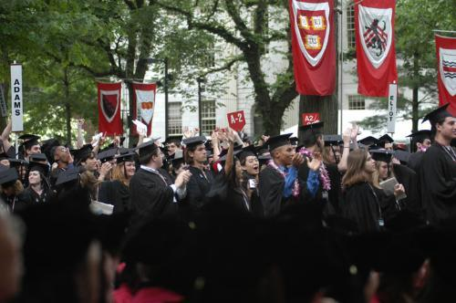 Last year's commencement morning exercises.