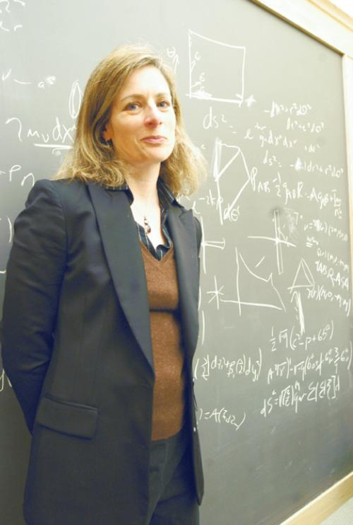 Professor of Physics Lisa Randall '83, recently named one of Newsweek's most influential people of 2006, rose to the top with her theories on gravity.