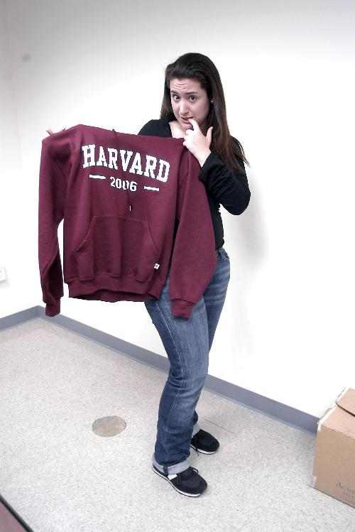 For a nostalgic senior, a last sweatshirt and a last hurrah